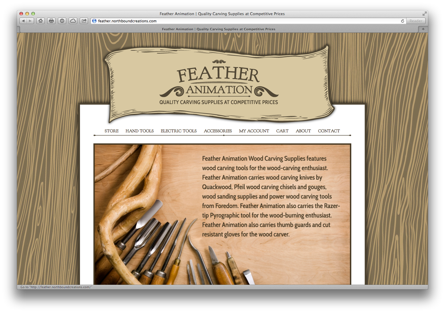 Feather Animation website